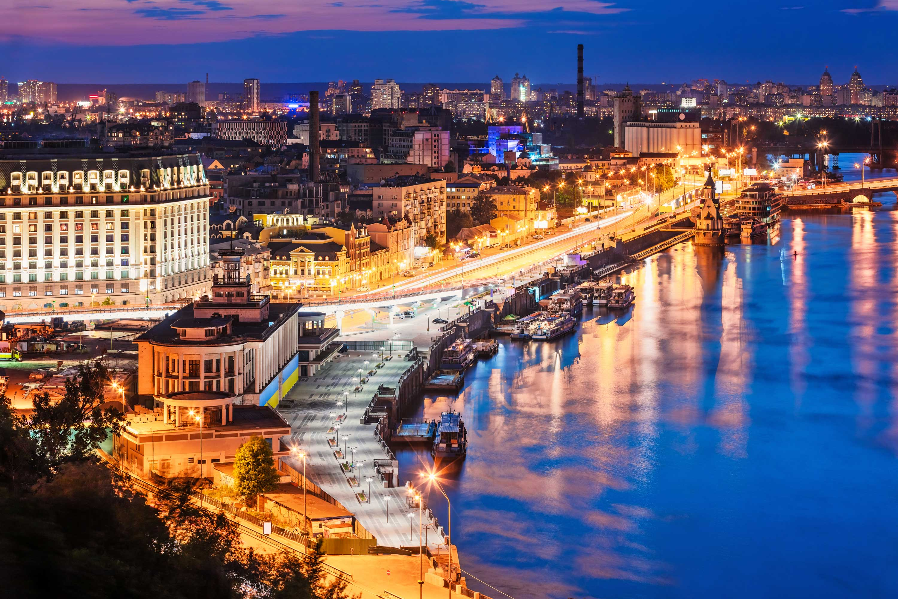 Welcome to Kyiv, Ukraine